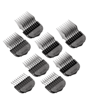 8-Piece Stainless-Steel Comb Set