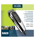 RACD Detachable Blade Clipper ( HARD CASE-HOME USE)