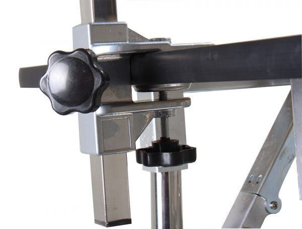 Height Adjustable Folding Table - L